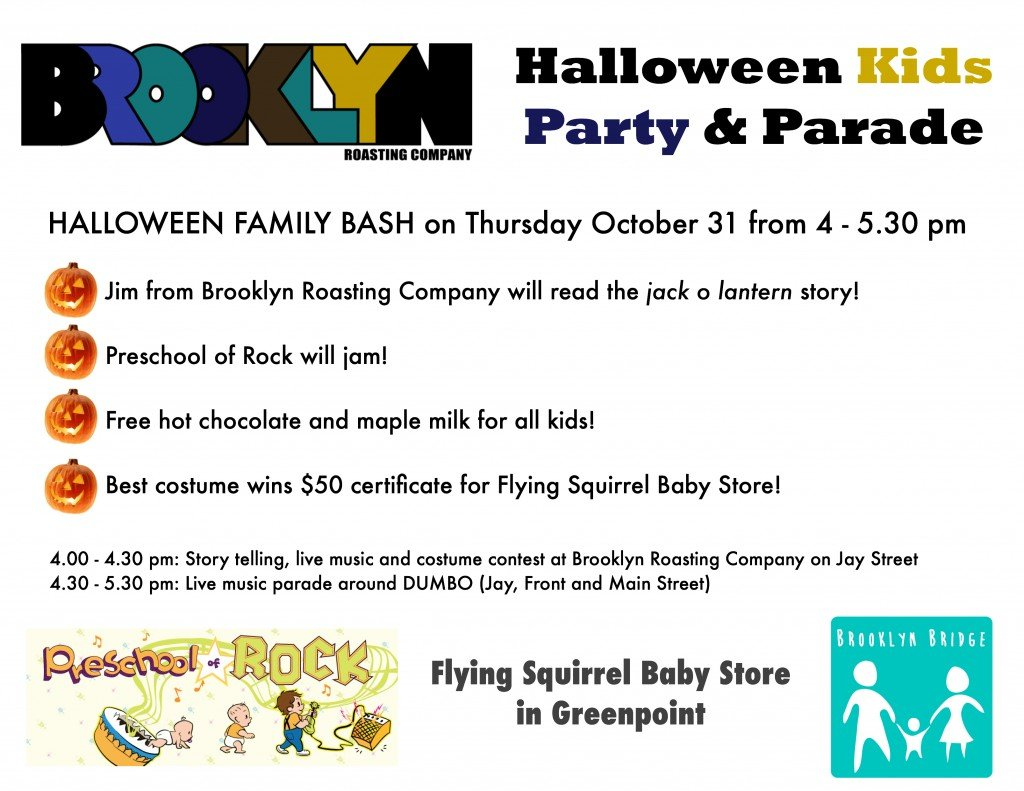 halloween events in brooklyn heights dumbo brooklyn bridge parents news from the neighborhood for parents in dumbo and brooklyn heights - Halloween Parties Brooklyn