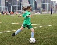 Indoor and outdoor soccer for kids in our neighborhood