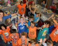 When school is out, camp is on at Creatively Wild Art Studio in DUMBO – always (sponsored)