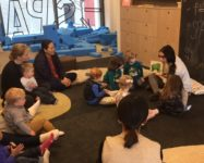 Spring early childhood classes at Spark Children's Museum in DUMBO