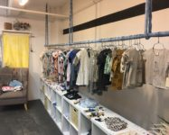 DUMBO baby boutique inside Trunk store open
