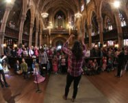 Kids activities during Brooklyn Folk Festival April 28  – 30