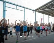 Free fitness classes in Brooklyn Bridge Park this summer