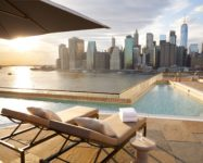 Rooftop bar at 1 Hotel Brooklyn Bridge now open