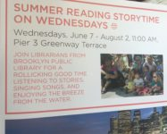 Summer reading story time for children of all ages at Pier 3