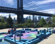 Free outdoors playtime with Spark in Brooklyn Bridge Park