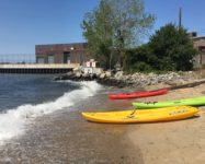Free kayaking this summer in Red Hook and Brooklyn Bridge Park