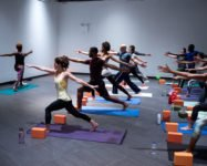 Free mommy & me yoga at the new Citypoint Mall