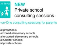 New one-on-one school consulting sessions for local parents