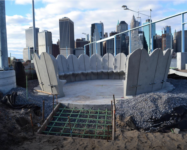 Construction updates for Pier 2 and 3 in Brooklyn Bridge Park