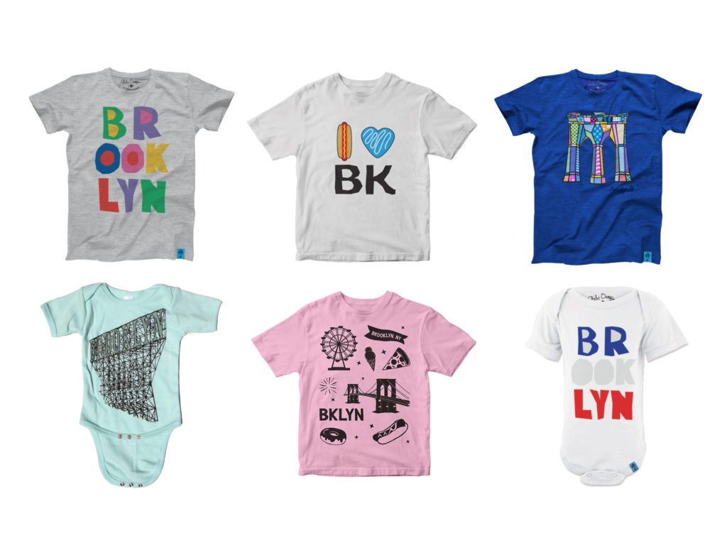 Brooklyn shirts for little Brooklynites