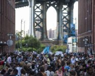 Adopt your elephant for DUMBO's block party supporting local public schools