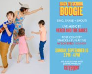"City Point's ""Back to School Boogie"" this Sunday (sponsored)"