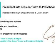Meet 7 preschool & daycare directors at our preschool info session 9/25