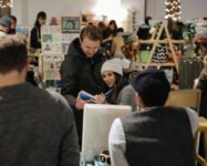 Holiday markets in our neighborhood