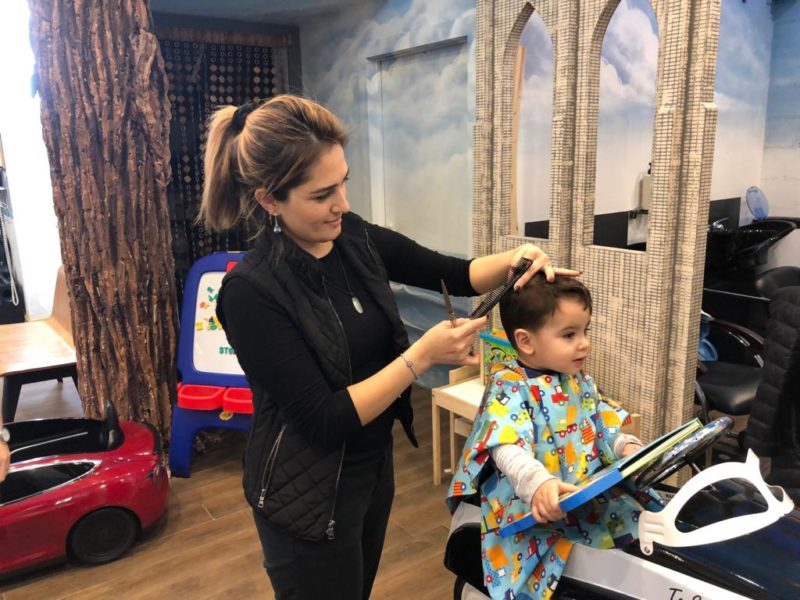 DUMBO's one and only kids hair salon (sponsored)
