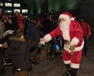 Holiday tree lightings and Santa visits in Brooklyn
