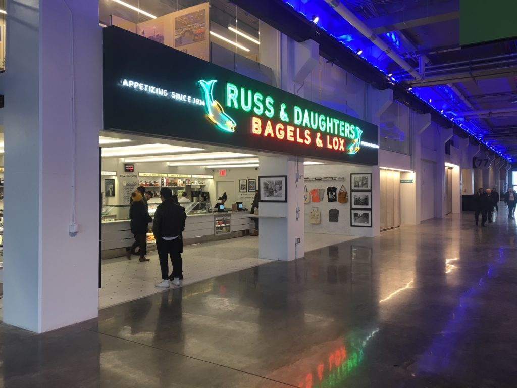 Russ & Daughters at the Navy Yard is now open