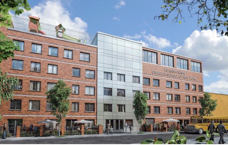 International Charter School of New York plans new K-8 building near the Navy Yard