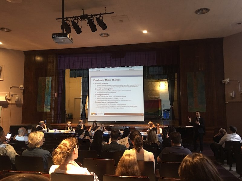 No official proposals yet for PS 32 and sub-district rezoning
