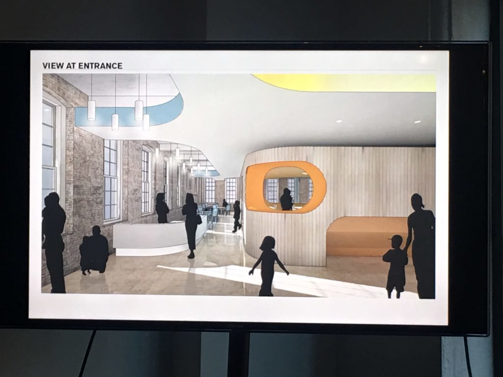 First looks of the new public library coming to DUMBO