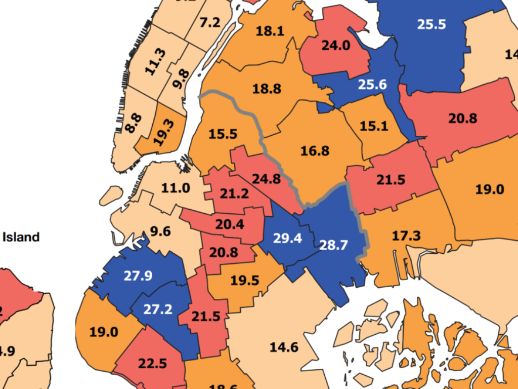NYC poverty report shows neighborhoods with lowest poverty levels in Brooklyn