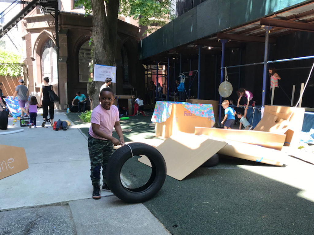 Adventure playground play:groundNYC plans for Brooklyn location