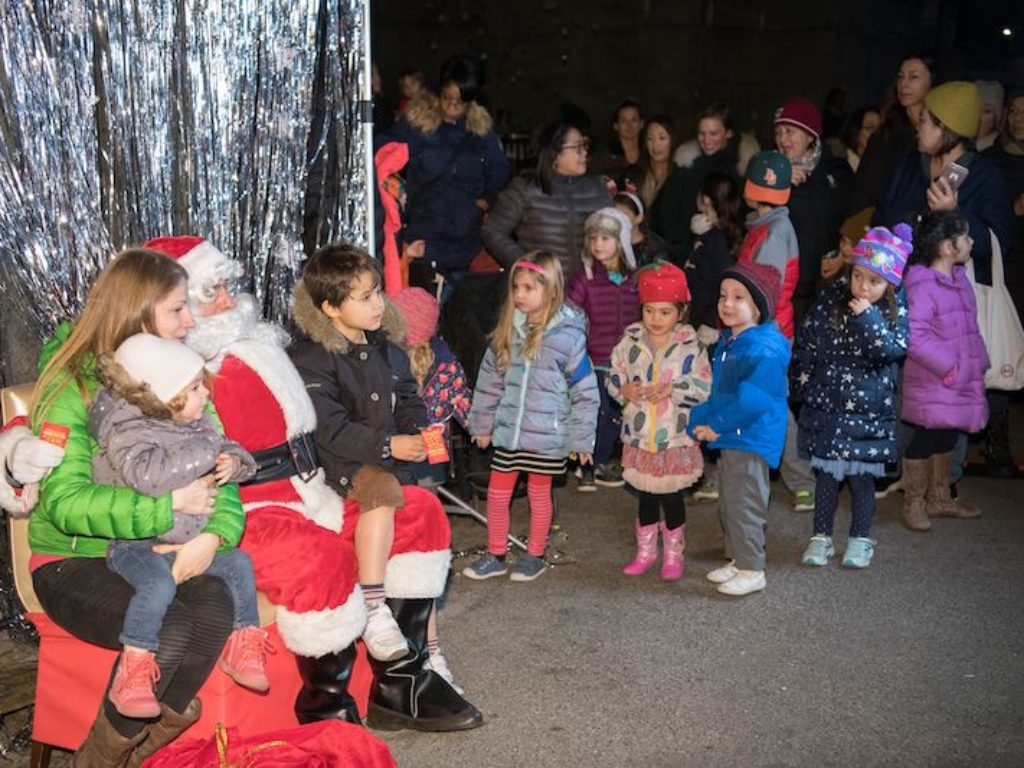 Holiday tree lightings and Santa visits in Brooklyn