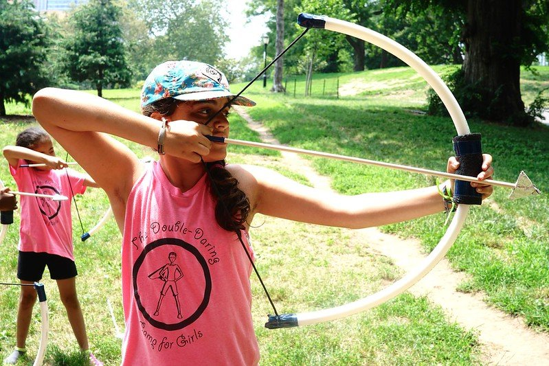 Daring Girls summer camp: Adventures in Mythology in Prospect Park (sponsored)