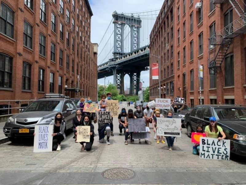 Family-friendly Black Lives Matter protests in Brooklyn