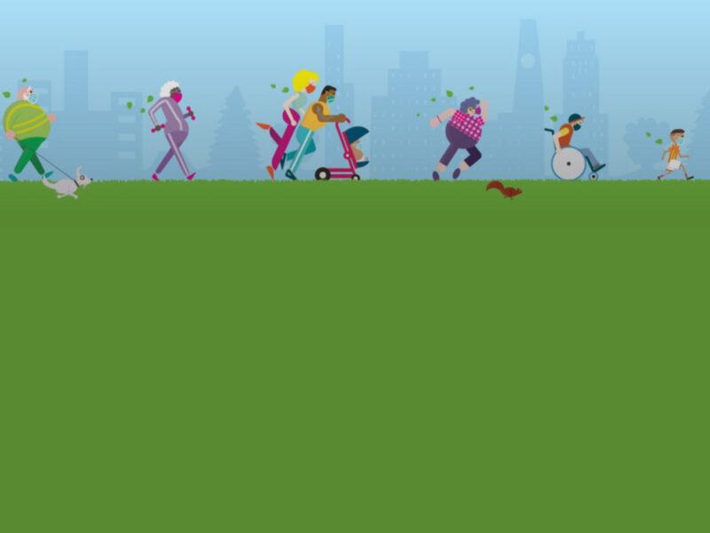 Free walking & running programs in local parks