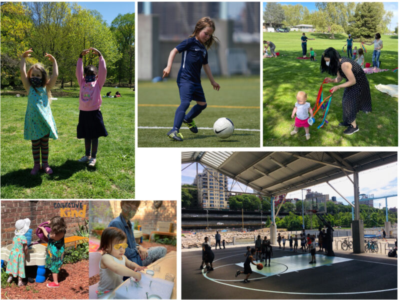 Outdoor classes this summer in Brooklyn
