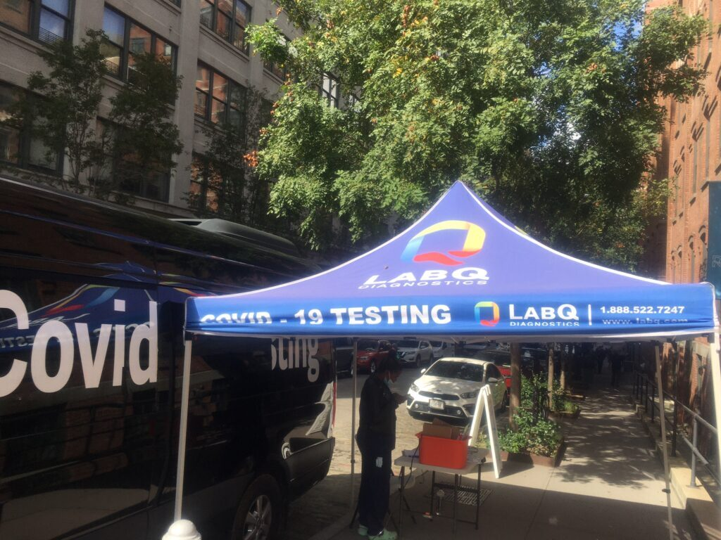 Covid testing sites in our neighborhoods