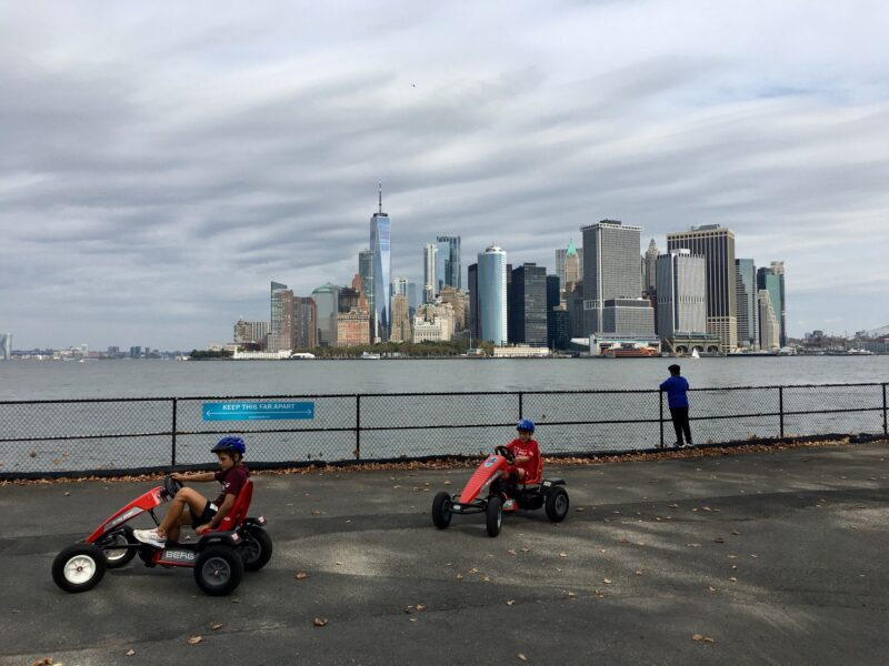 Fall excursion to Governors Island